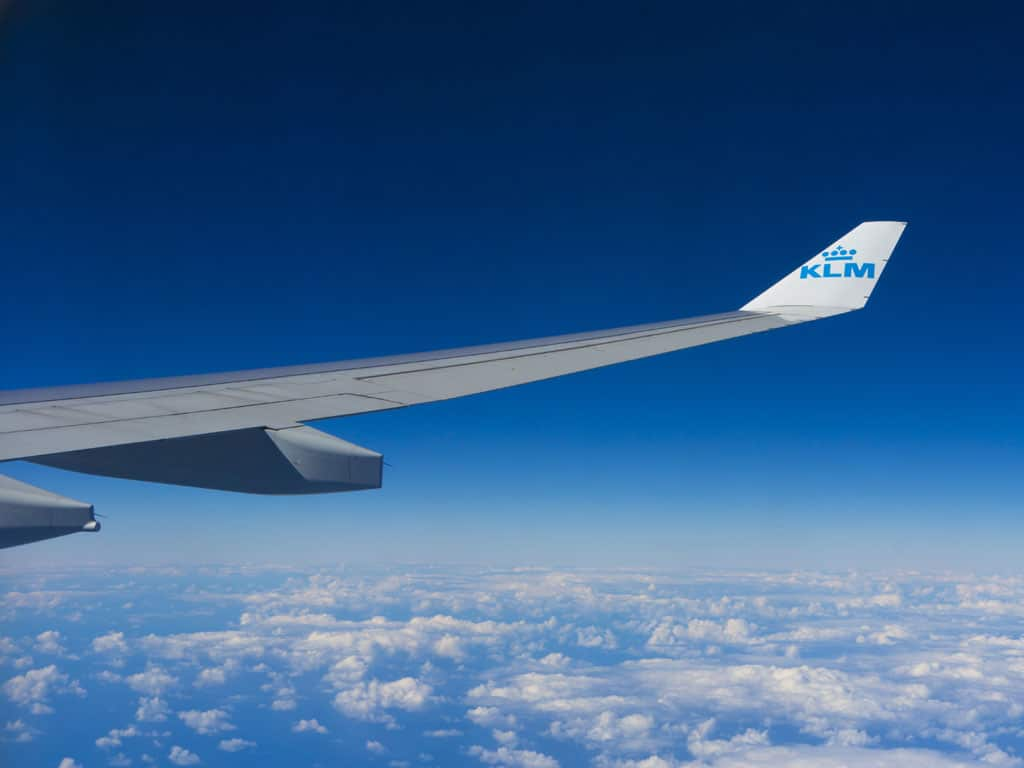 klm and whatsapp