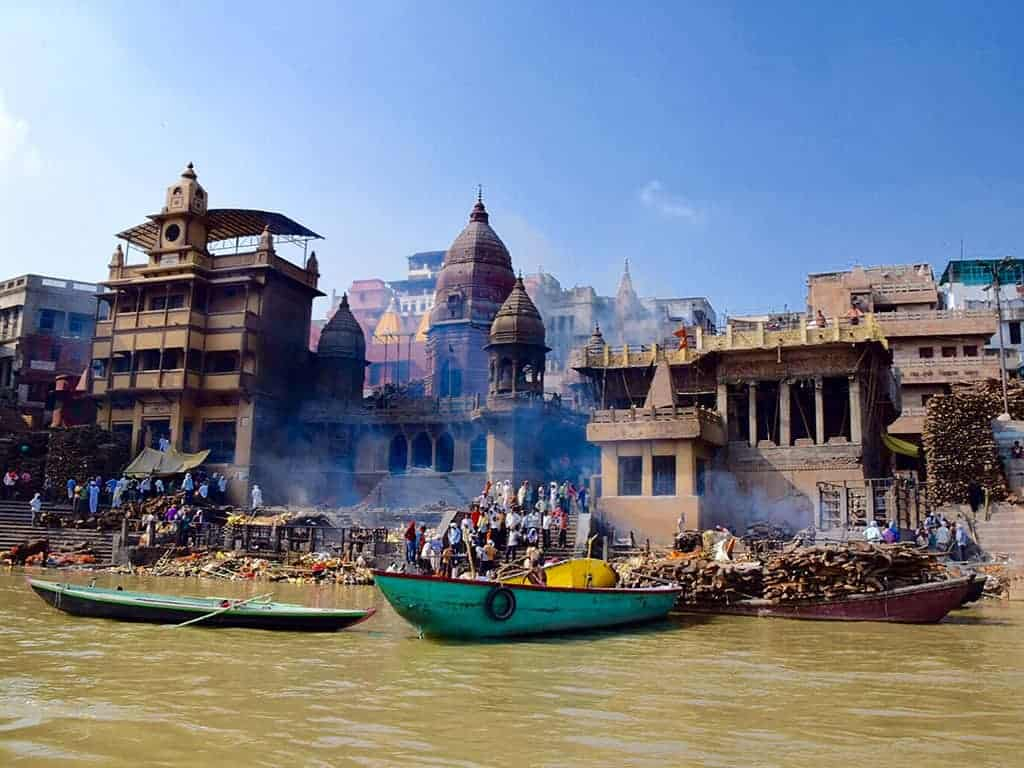 Golden Triangle Tour Varanasi Ganges River