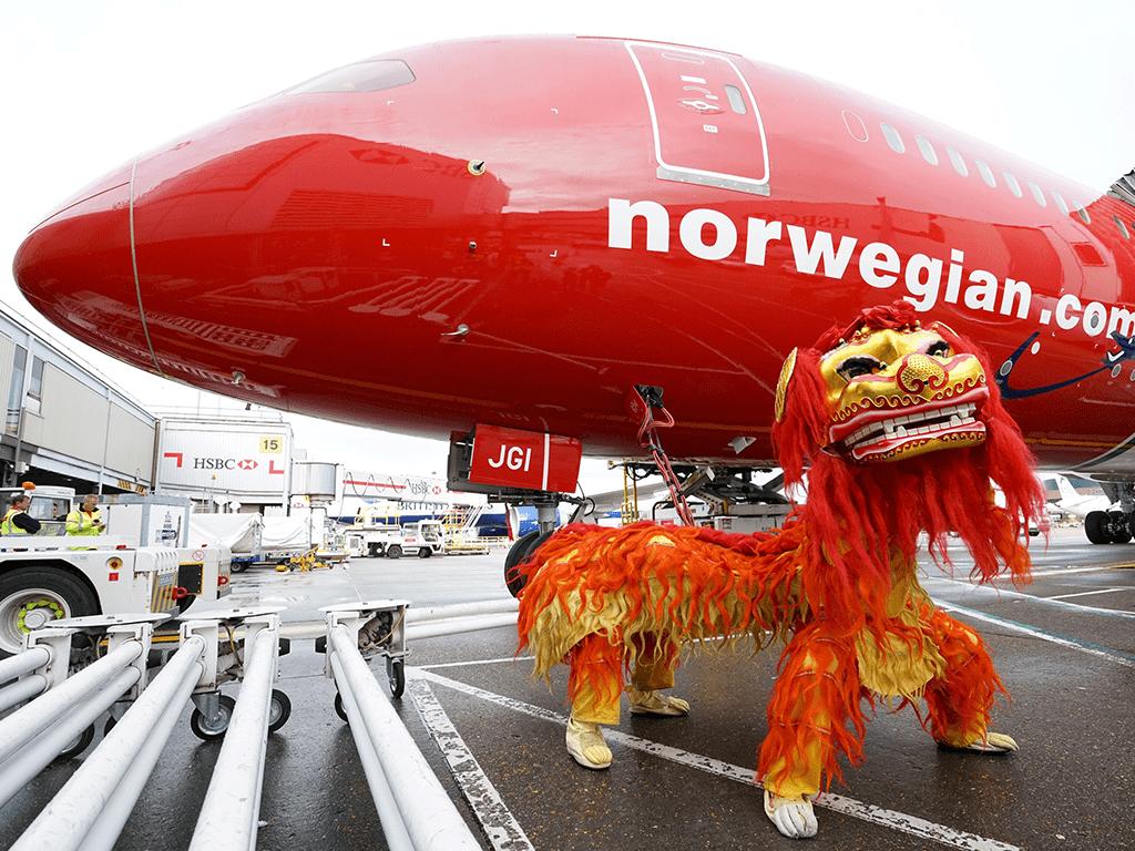Norwegian launches longest low-cost flight
