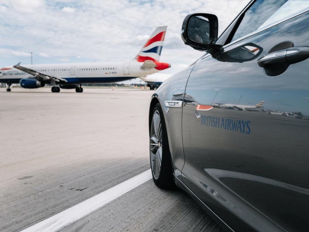 British Airways Premium transfer