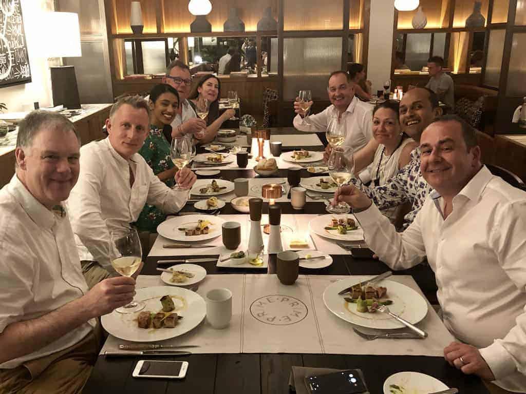 One&Only Le Saint Geran Prime restaurant