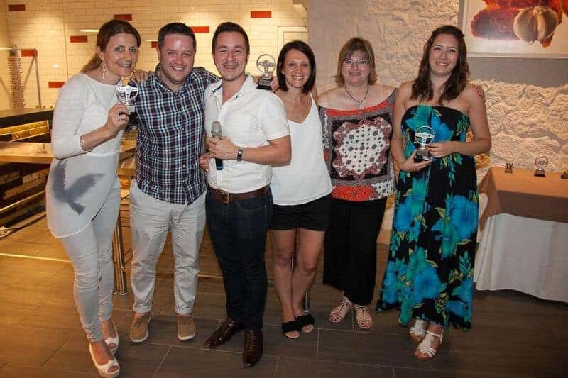 Beachcomber Travel Trade Crusade awards