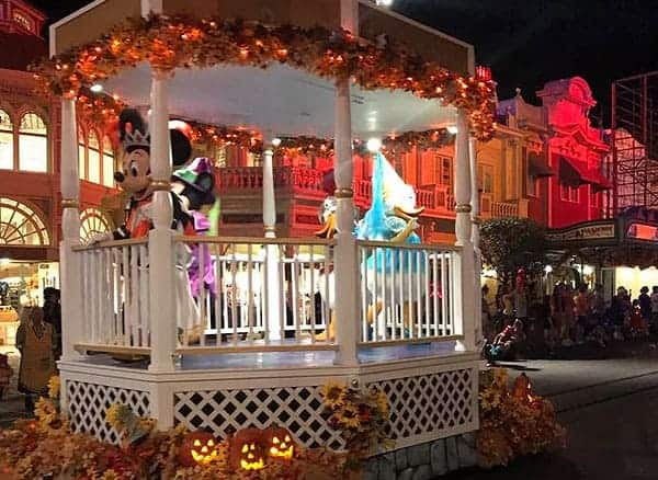 Disney World Halloween Parade