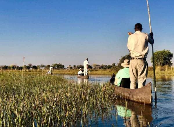 Karen & James visit Botswana & the Okavango Delta