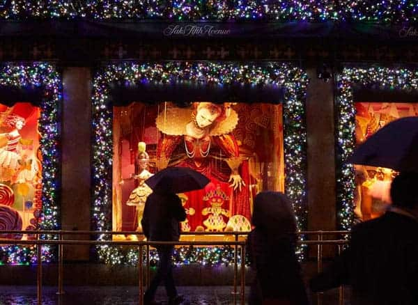 Saks Christmas Window Display