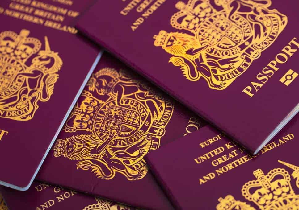 Passport rules for travel to Europe after Brexit