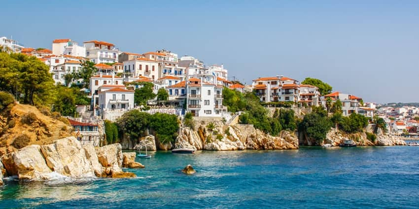 Skiathos in May
