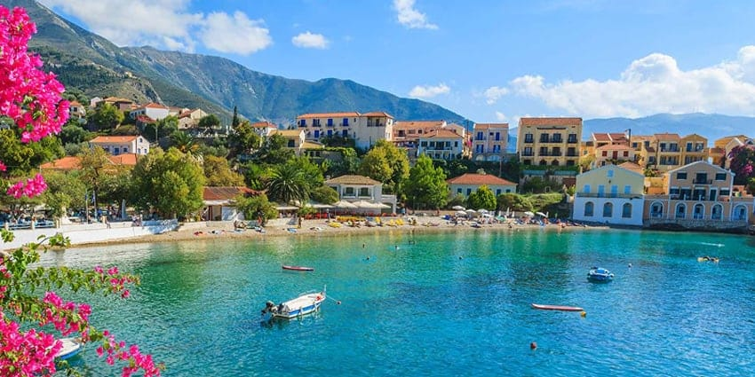 Kefalonia in May