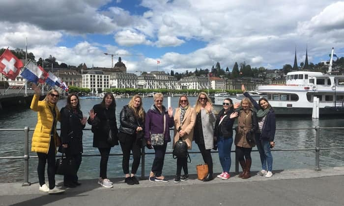 Group in Lucerne