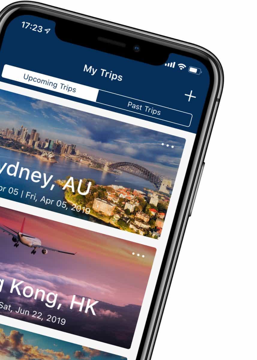 Travel Itinerary Management App