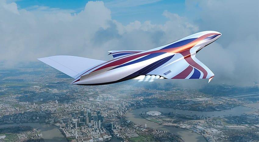 Sabre Rocket Engine Plane