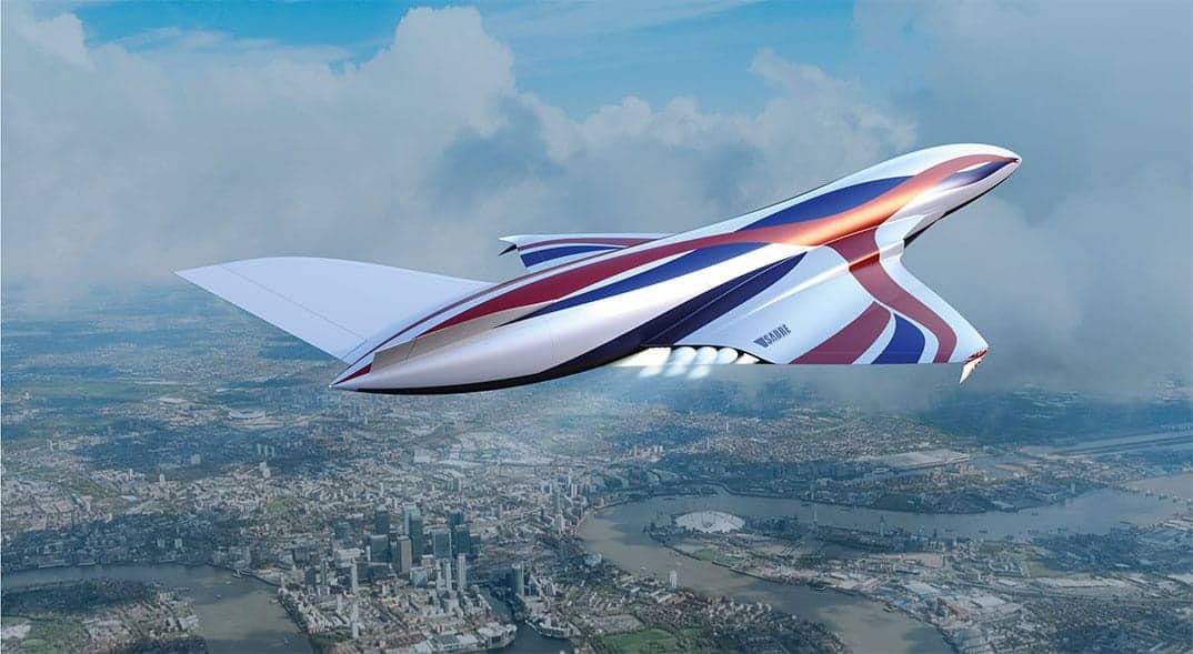 Sabre Air Breathing Rocket Plane