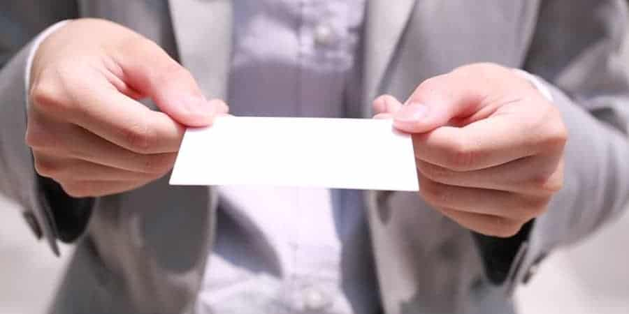 Offering Business Card Japan Business