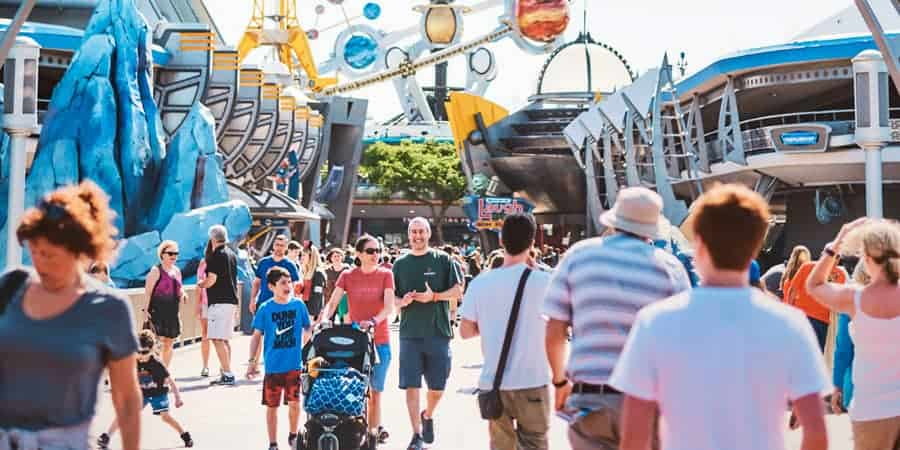 Disney World Avoid Queues
