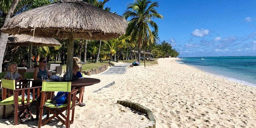 Beachcomber La Plage Restaurant Dinarobin Mauritius