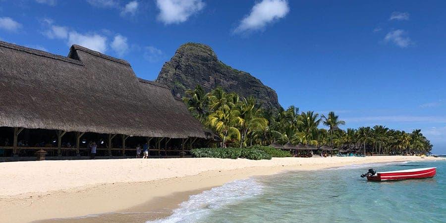 Beachcomber Paradis Mauritius seafood Blue Marlin restaurant