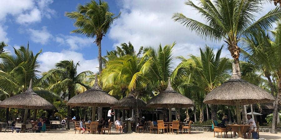 Beachcomber Paradis La Palma beach restaurant