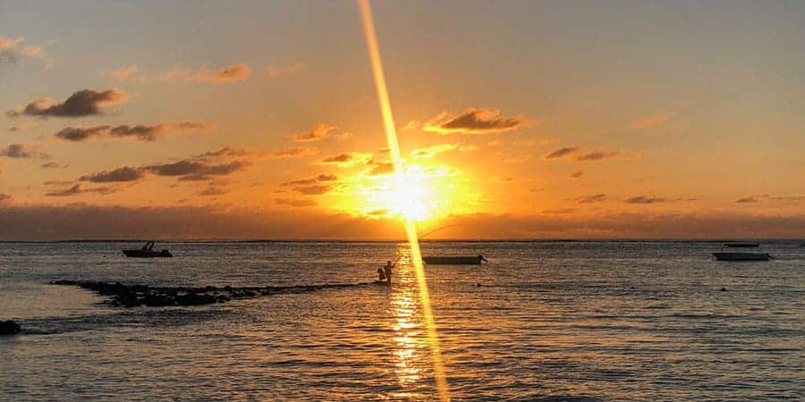 Beachcomber Paradis Le Morne Sunset