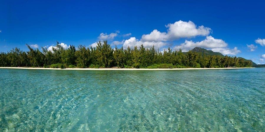 Paradise found at Ile Aux Benitiers Le Morne Mauritius