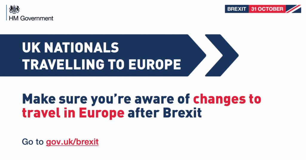 Visit Europe after Brexit