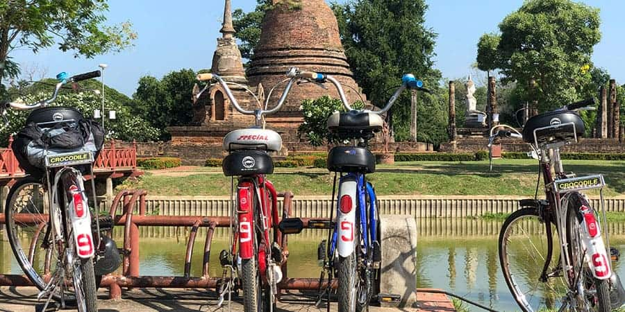 Cycling Sukhothai Intrepid Explore Northern Thailand