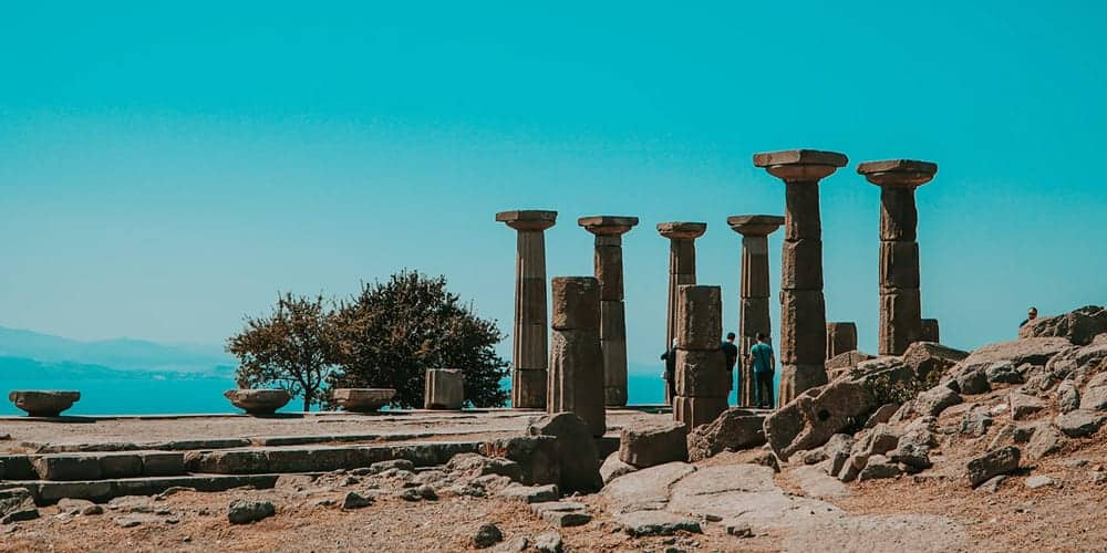 The Trip To Greece - Temple of Athena