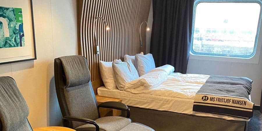 MS Fridtjof Nansen cabins