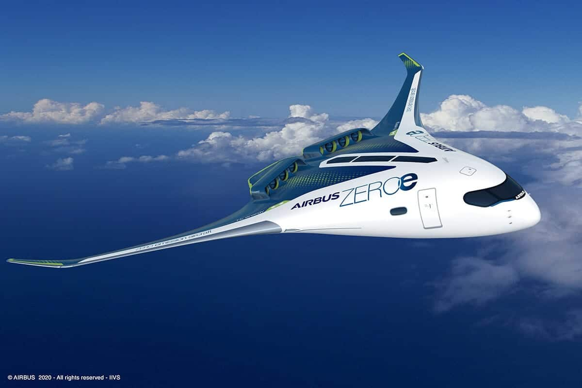AirbusZEROe Blended Wing Body Concept (1)