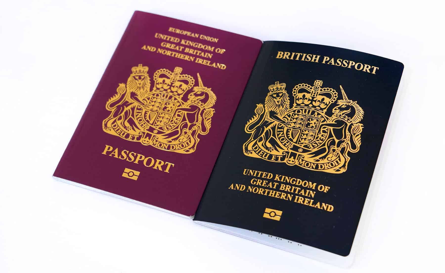 Changes to passport in 2021