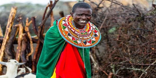massai-village-woman