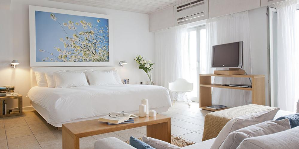 Grace Mykonos Grace Suite Bedroom